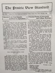The Prairie View Standard - December 1929