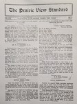 The Prairie View Standard - March 1929 by Prairie View State Normal and Industrial College
