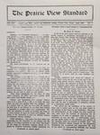 The Prairie View Standard - April 1929