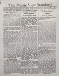 The Prairie View Standard - September 1935 by Prairie View State Normal and Industrial College