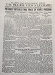 The Prairie View Standard - April 1936 by Prairie View State Normal and Industrial College