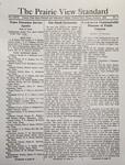 The Prairie View Standard - January 1936