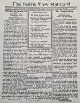 The Prairie View Standard - March 1936