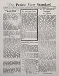 The Prairie View Standard - September 1936 by Prairie View State Normal and Industrial College