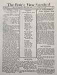The Prairie View Standard - October 1936 - Vol. XXVII No. 2 by Prairie View State Normal and Industrial College