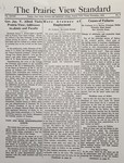 The Prairie View Standard - November 1936 by Prairie View State Normal and Industrial College