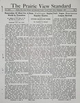 The Prairie View Standard - September 1937 by Prairie View State Normal and Industrial College