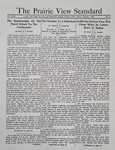 The Prairie View Standard - October 1937 by Prairie View State Normal and Industrial College