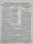 The Prairie View Standard - December 1937