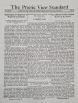 The Prairie View Standard - June 1937 by Prairie View State Normal and Industrial College