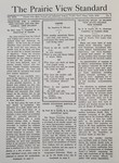 The Prairie View Standard - April 1938
