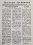 The Prairie View Standard - June 1938 by Prairie View State Normal and Industrial College