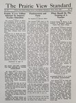 The Prairie View Standard - June 1939 by Prairie View State Normal and Industrial College
