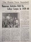The Prairie View Standard - September 1940 by Prairie View State Normal and Industrial College