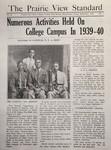 The Prairie View Standard - September 1940