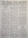 The Prairie View Standard - October 1940 by Prairie View State Normal and Industrial College