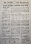 The Prairie View Standard - December 1940 by Prairie View State Normal and Industrial College