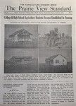 The Prairie View Standard - January 1941 by Prairie View State Normal and Industrial College