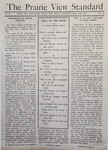 The Prairie View Standard - June 1941 by Prairie View State Normal and Industrial College