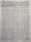 The Prairie View Standard - September 1941 by Prairie View State Normal and Industrial College