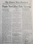 The Prairie View Standard - June 1945 by Prairie View State Normal and Industrial College