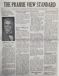The Prairie View Standard - September 1950