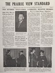 The Prairie View Standard - May 1954 by Prairie View Agricultural and Mechanical College of Texas
