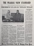 The Prairie View Standard - December 1954 by Prairie View Agricultural and Mechanical College of Texas