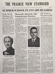 The Prairie View Standard - May 1955 by Prairie View Agricultural and Mechanical College of Texas