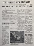 The Prairie View Standard - September 1955 by Prairie View Agricultural and Mechanical College of Texas