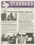 The Prairie View Standard - August 1977 by Prairie View A&M University