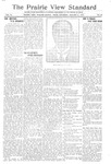 The Prairie View Standard - January 6th 1917 by Prairie View State Normal and Industrial College