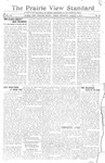 The Prairie View Standard - August 4th 1917