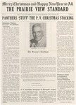 The Prairie View Standard - December 1953 by Prairie View Agricultural and Mechanical College of Texas