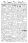 The Prairie View Standard - July 29th 1916 by Prairie View State Normal & Industrial College