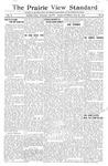 The Prairie View Standard - July 29th 1916