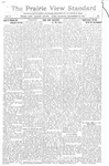 The Prairie View Standard - September 30th 1916 by Prairie View State Normal & Industrial College