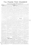 The Prairie View Standard - June 3rd 1916 by Prairie View State Normal & Industrial College