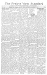 The Prairie View Standard - September 16th 1916 by Prairie View State Normal & Industrial College