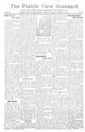 The Prairie View Standard - October 7th 1916