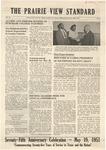 The Prairie View Standard - April 1951 - Vol. XLI No. 8