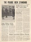 The Prairie View Standard - December 1952 - Vol. XLIII No. 4