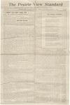 The Prairie View Standard - August 15th, 1914 - Vol. IV No. 25