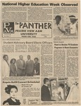 The Panther - October 1983 Vol. LVIII, No. 3