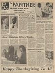 The Panther - November  1983 Vol. LVIII, No. 6
