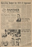 Panther - August 1971 - Vol. XLV, No. 18