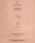 Report on the Self-Study Workshop - April 2, 1968 by Prairie View A&M College