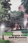 Undergraduate Catalog - The School Year 1988-1989 by Prairie View A&M University
