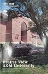 Undergraduate Catalog - The School Year 1996-1998 by Prairie View A&M University