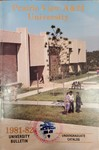 Undergraduate Catalog - The School Year 1981-1982 by Prairie View A&M University
